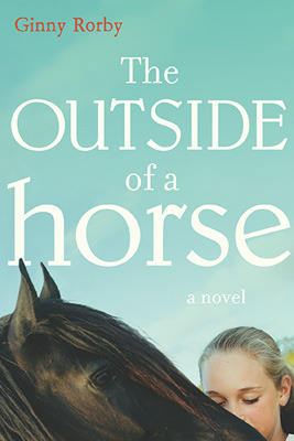 the outside of a horse